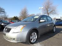 2008 NISSAN SENTRA 4DR SDN I4 CVT 2.0 S 2.0 S. Our