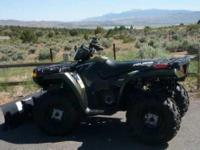 2008 Polaris Sportsman 500 HO. Currently with only 12