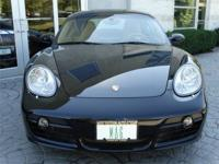 2008 Porsche Cayman S Manual Transmission! Black over
