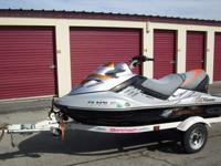 ,.2008 Seadoo RXTX. Supercharged 255 hp, 4 stroke, 3