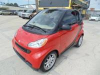 The 2008 Smart Fortwo is a fuel-sipping city car for