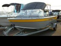 HEAVY GAUGE ALUMINUM FISHING BOAT - SMOKER CRAFTS