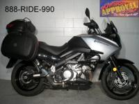 2008 Suzuki DL1000 VStrom. Loaded, packed, packed. All
