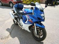 2008 Suzuki GSX650F One owner low low miles good rubber