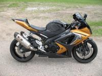 2008 Suzuki GSXR 1000, this is one bad bike. Come check