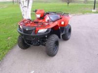 LOTS OF POWER The Suzuki KingQuad 750 is the QuadRunner