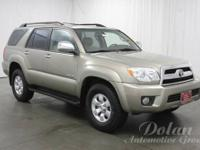 4Runner SR5, 4WD, and Alloy wheels. Hurry and take