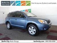 Factory Certified 2008 TOYOTA RAV4 4WD,one owner with
