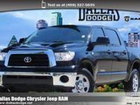 We are excited to offer this 2008 Toyota Tundra 2WD