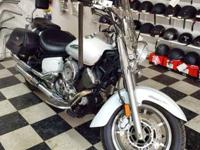 We've got a 2008 Yamaha 1100 V-Star for sale. This bike
