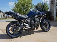 Below is my 2008 Yamaha FZ6. This has been and will