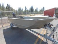 JON BOATS,  MOUNTAINVEIW POWERSPORTS HAS SOME IN AND