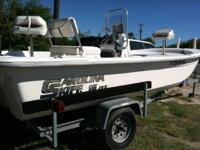 2009 17' Carolina Skiff with a 2009 Yamaha 50TLR