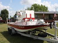 THIS BOAT HAS A YAMAHA 150 4 STROKE TRP LOWER UNIT, 4
