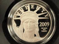 Each American Eagle One Ounce Platinum Proof Coin