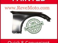 2009-2011 Chevrolet Aveo Passenger Fender Painted with