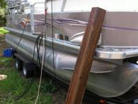 2009 22' Sylvan Mirage with 2010 Hoosier Pontoon Boat