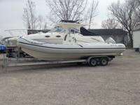 2009 Apex inflatable RIB powered by a Great running 225