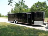 (2009) 36' Pace American Aerosport V-Nosed enclosed