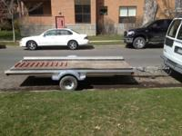 2009 5x10 Trailer  Trailer weighs 400lbs  Can carry a