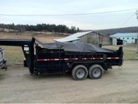 2009 Dump and Go Brand dump trailer. Very nice dump