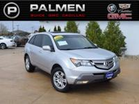 2009 Acura MDX 3.7L AWD 5-Speed Automatic 3.7L V6 SOHC