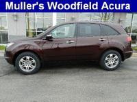 Description 2009 ACURA MDX Leather Upholstery, CD