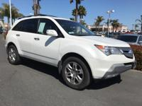 Recent Arrival! 2009 Acura MDX Technology Clean CARFAX.