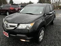 New Price! Clean CARFAX. Bordeaux Leather. 2009 Acura
