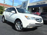 Experience driving perfection in the 2009 Acura MDX!