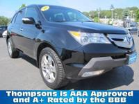 2009 Acura MDX 7-Passenger Crossover SUV with All Wheel