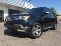 2009 ACURA MDX SPORT DVD NAV 73K MILES. This MDX is a