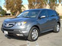 Drive in comfort inside this Low Mile 2009 Acura MDX w/