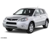 RDX trim. CARFAX 1-Owner, ONLY 45,207 Miles! Moonroof,