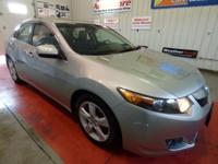 THIS USED 2009 ACURA TSX POLISHED METAL METALLIC SEDAN