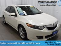 **EASY No Hassle - No Haggle Pricing** 2009 Acura TSX