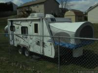 2009 Aerolite Cub 195 ultra-lite hybrid travel trailer,