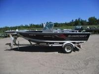 Up for auction is a 2009 Alumacraft Boss 175 Sporting