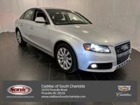 This 2009 Audi A4 2.0T Prem Plus comes complete with