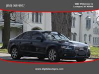 This sharp looking 2009 Audi A4 Is a local trade with