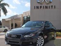 2009 Audi A4 2.0T Premium Plus, Only 53847 Miles, Auto,