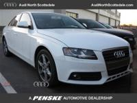 Audi Certified, 4D Sedan, CVT Multitronic, Ibis White,