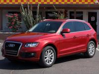 Options:  2009 Audi Q5 4D Wagon 3.2L Premium|Red|Air