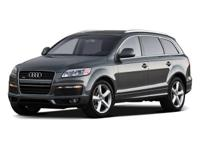This 2009 Q7 is for Audi lovers looking everywhere for