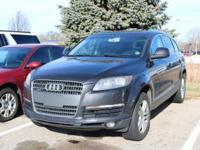 Options:  2009 Audi Q7|/|V6 3.6L Automatic|251342