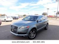Great Audi Q7 SUV at a wonderful price. These Q7's