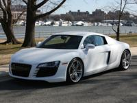 This beautiful R8 has been in an excellent care to