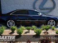 S8 trim. Nav System, Moonroof, Heated Leather Seats,