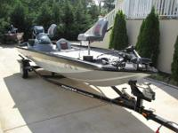2009 Bass Tracker 190 Series.90Hp Mercury Optimax With