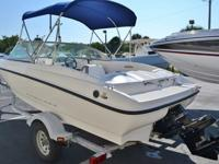 2009 Bayliner 175 boat is in good condition. The